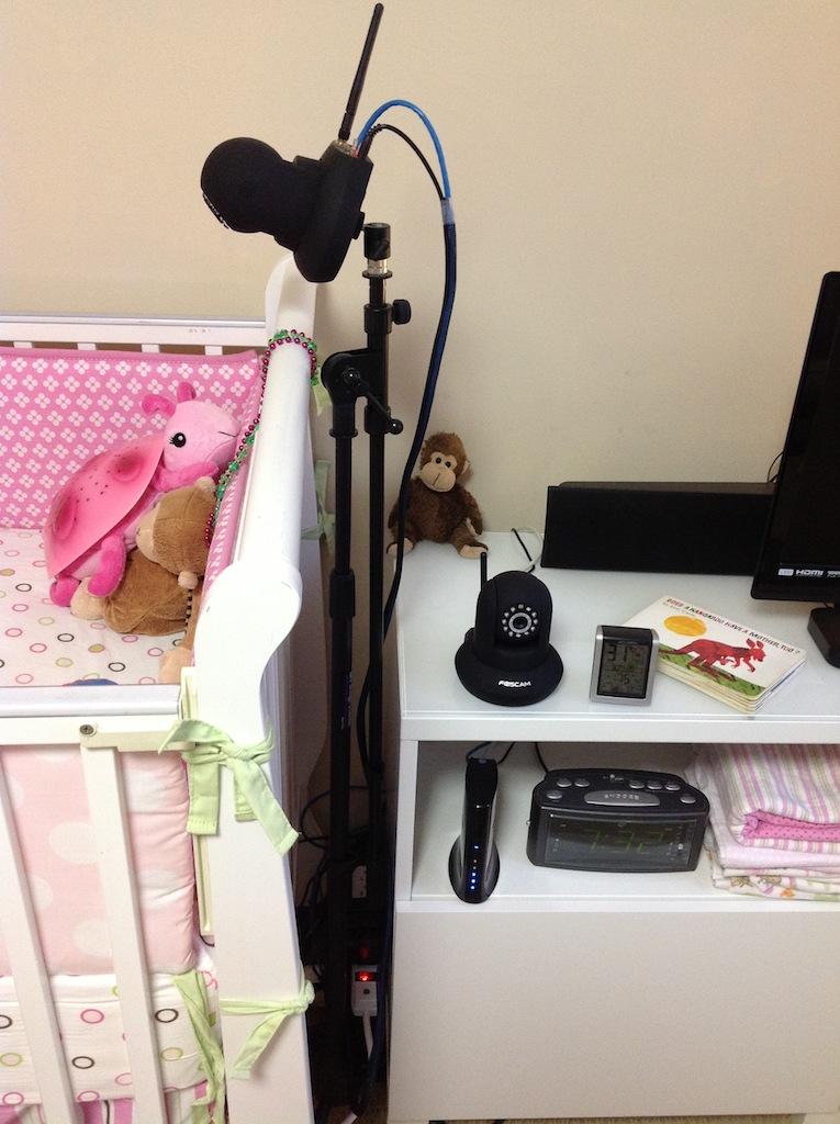 The Nursery Camera Setup